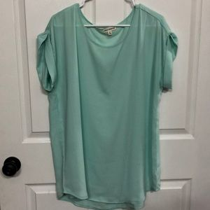 Tunic Blouse Mint Green